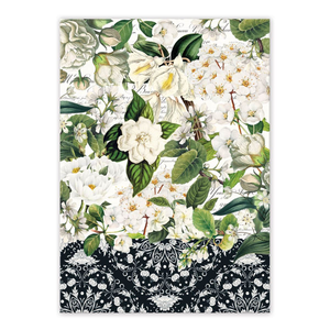 Michel Design Works Bouquet Tea Towel