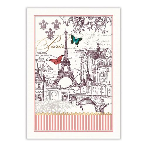 Michel Design Works Toujours Paris Tea Towel