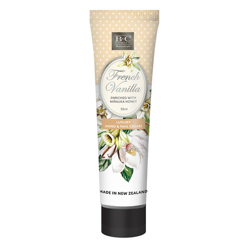 Banks and Co French Vanilla Luxury Hand & Nail Cream 50ml