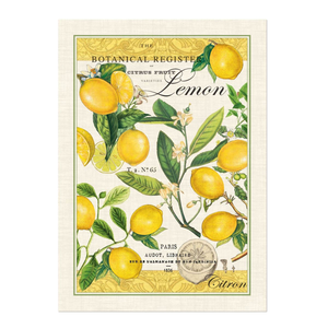 Michel Design Works Lemon Basil Tea Towel