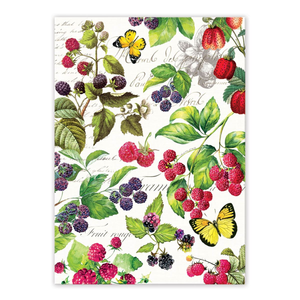 Michel Design Works Berry Patch Tea Towel