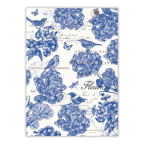 Michel Design Works Indigo Cotton Tea Towel