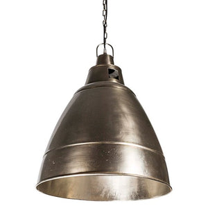 Alexia Iron Lamp Silver Finish
