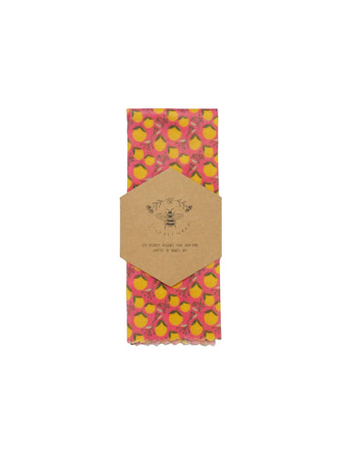 Lily Bee Wrap - Medium Single - Oranges