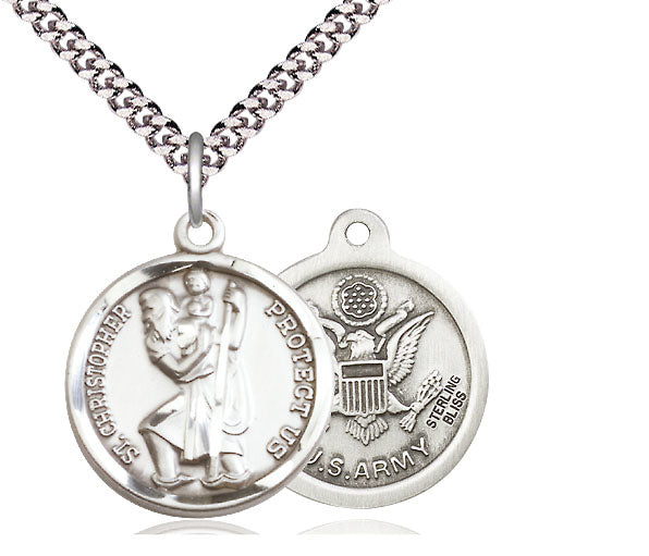 Saint Christopher Army Medal