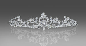 Anjas Dream 1541 Tiara Veil
