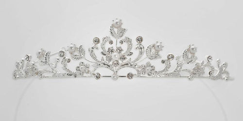 Anja First Communion Tiara Veil