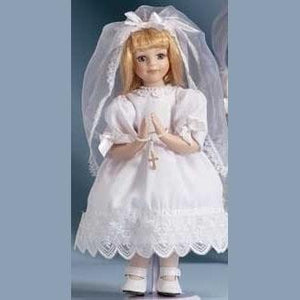 Blond Communion Doll