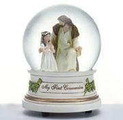 Girl Water Globe Communion