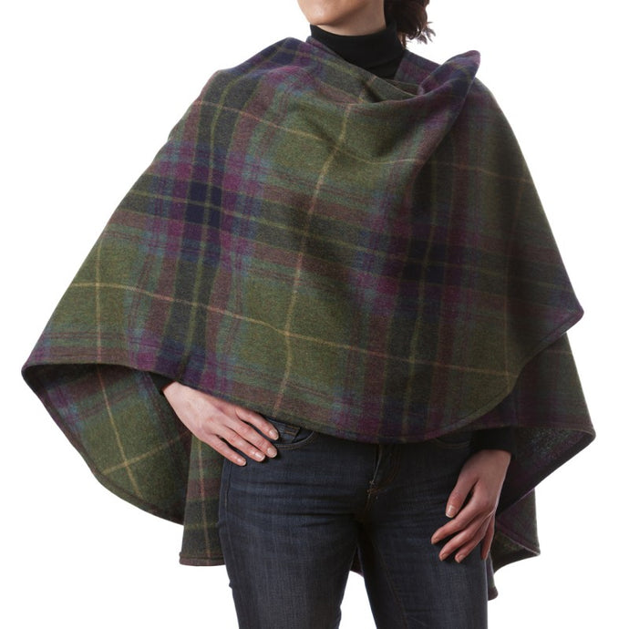 Ladies Cape Without Fringes