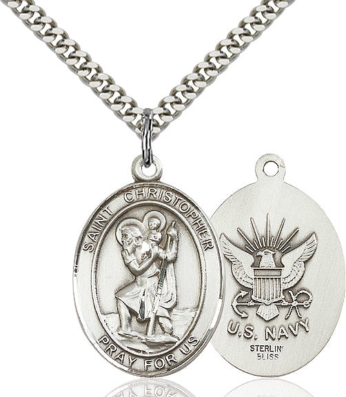 St. Christopher Navy Medal
