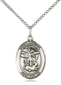 Saint Michael Oval Medal