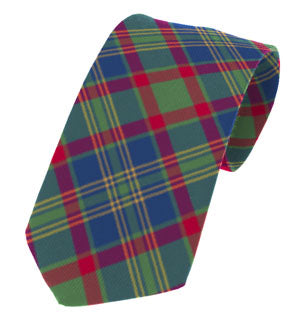 Cork Irish County Tartan Tie