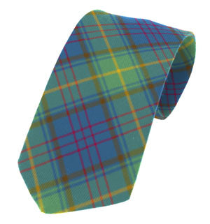 Donegal Irish County Tartan Tie