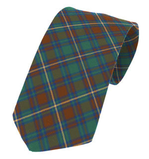 Kerry Irish County Tartan Tie