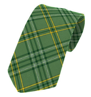 Wexford Irish County Tartan Tie