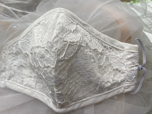 First Holy Communion Mask All Lace #7
