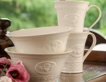 Belleek Mugs Set two