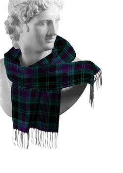 Carlow Irish County Tartan Scarf