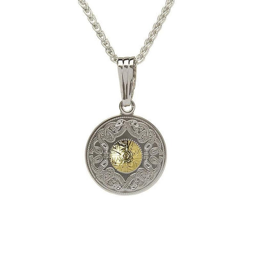 Celtic Warrior Shield Pendant Made in Ireland