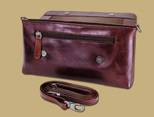 Load image into Gallery viewer, Lee River Ladies Ciara Clutch Leather Bag