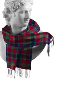 Clare Irish County Tartan Scarf