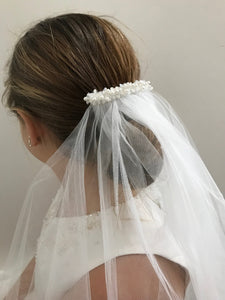 First Holy Communion Clip Veil