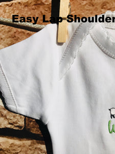 Personalized Embroidered Irish Baby Onesie