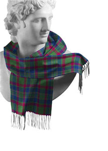 Cork Irish County Tartan Scarf