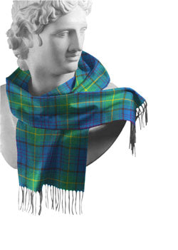 Donegal Irish County Tartan Scarf