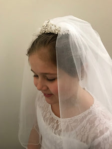 First Holy Communion Front Veil