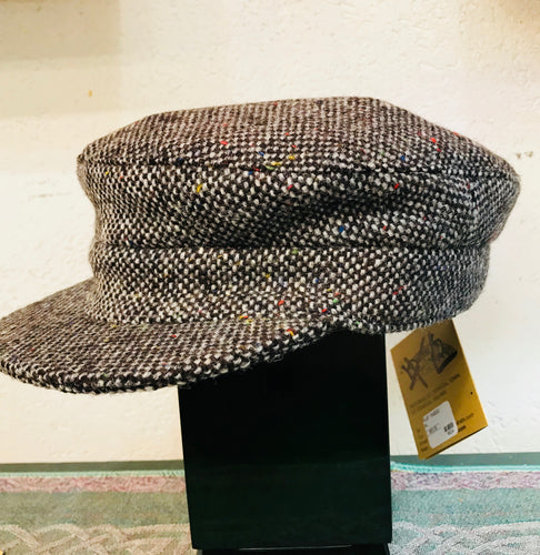 Skipper Cap Tweed by Hanna Hats