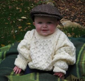 Kid's tweed hat