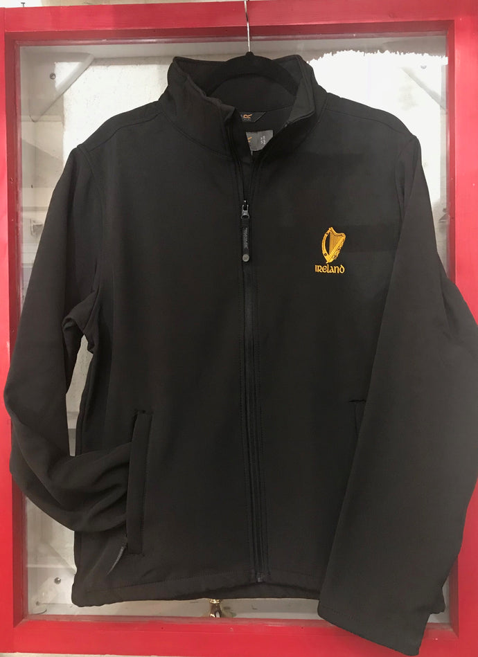 Men's Harp Black Full Zip Jacket