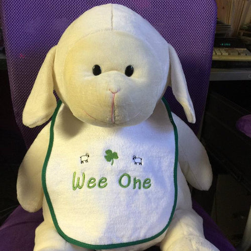 Wee One Bib  Wee Irish Bib