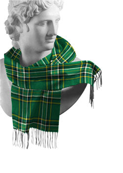Irish National Irish County Tartan Scarf
