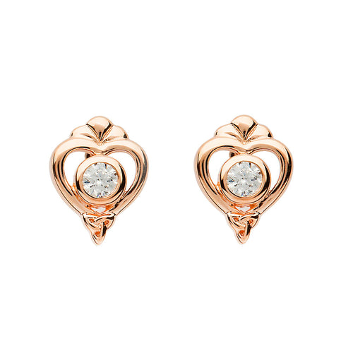 Princess Rose Gold Mix Earrings