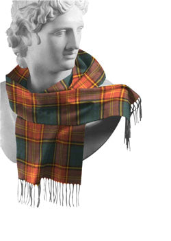 Roscommon Irish County Tartan Scarf