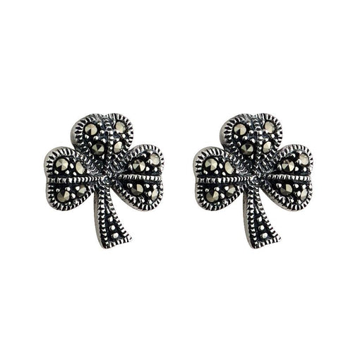 Solvar Maracite Shamrock Earrings