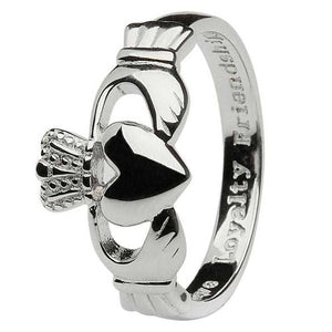 Gents SS Claddagh Ring