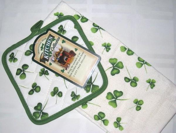 potholder towel set