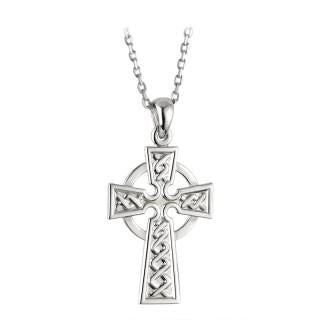 Sterling Celtic Cross