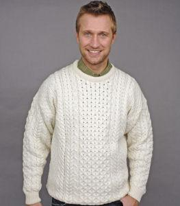 Traditional Aran Irish Sweater