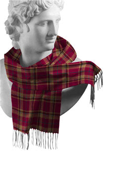 Tyrone Irish County Tartan Scarf