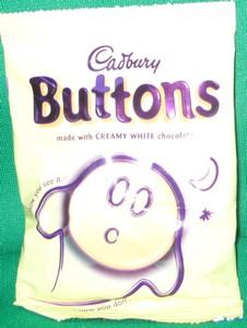 white buttons candy