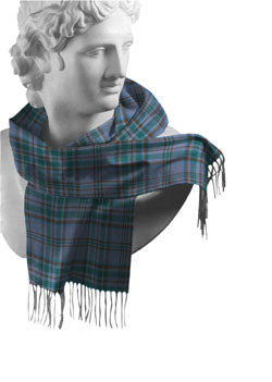 Wicklow Irish County Tartan Scarf