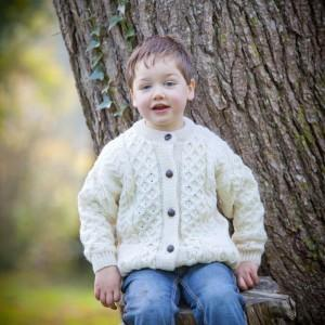 Aran Sweater for Children Made in Ireland