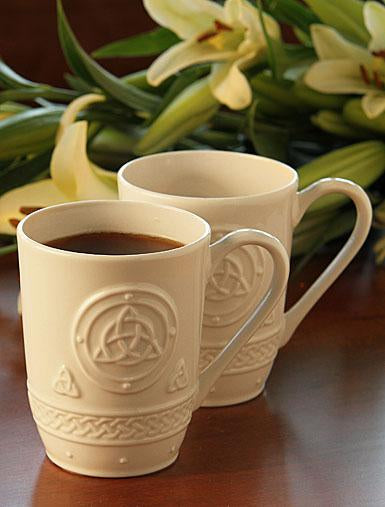 Belleek Trinity 2 Mugs