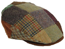 Load image into Gallery viewer, Vintage Patchwork Flat Cap by Hanna Hats