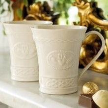 Load image into Gallery viewer, Belleek China Claddagh Mugs Gift Set